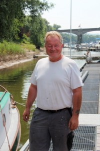 Ralf Lachnit, boat scientist, master mechanic and good guy